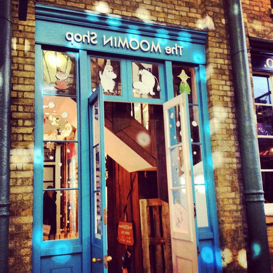 Therefore I was very excited when I learnt that the Moomin Shop...
