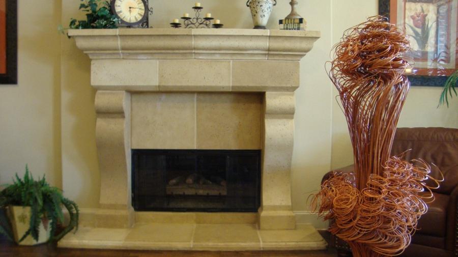 Decoration In Livingroom Photo Stone