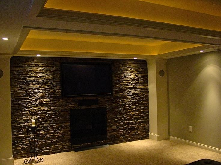 28 best basement faux wall project diy faux brick wall snappy casual covering finished - Steinwand imitat ...