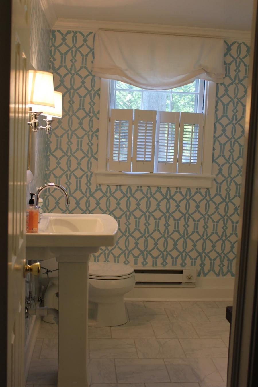 Powder Room Remodel Photos