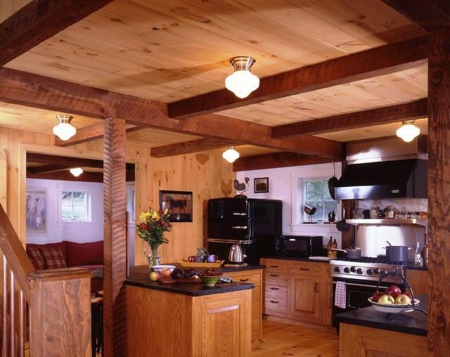 Yankee Barnu Post And Beam Kitchens Source