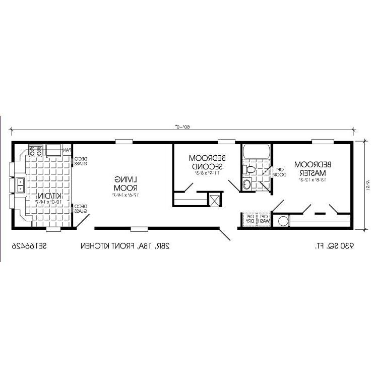 Clayton mobile home floor plans photos for Wide home plans