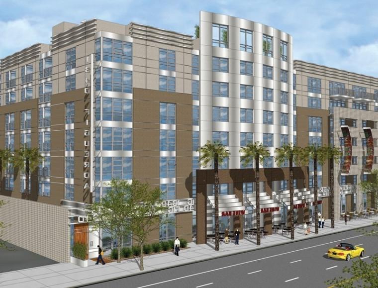 Downtown Apartment Building Photos