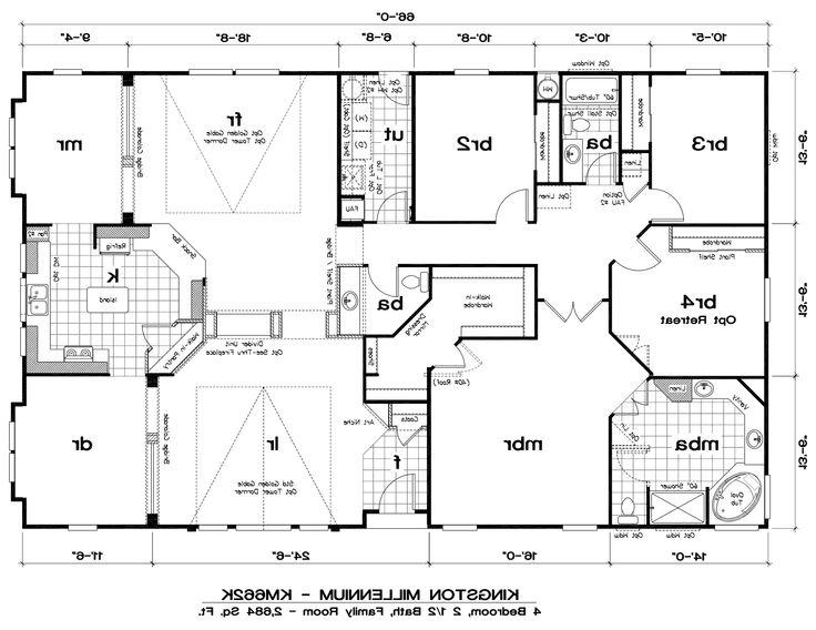 Romeo 4 Bedrooms With Den And Parents further The Winn Floor Plan furthermore 4781 6 further 30x50 Mobile Home Plans besides 5748bd3d3d62ea8d 5 Bedroom Mobile Home Floor Plans 6 Bedroom Double Wides. on mobile modular homes