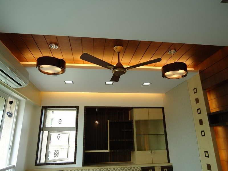 Modern Ceiling Design with Wood