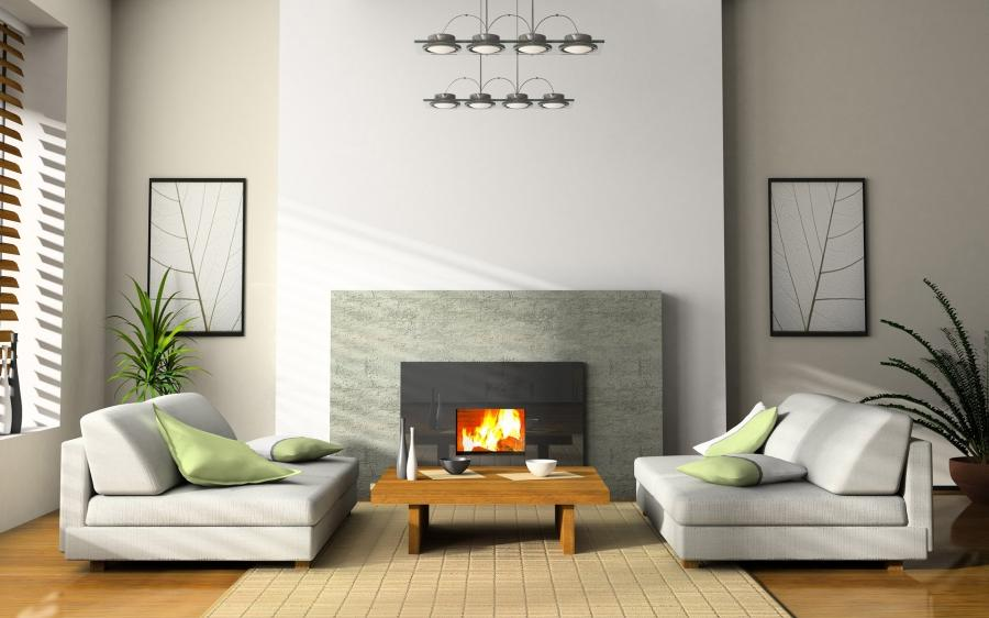 Interior Design Of Rooms With Fireplace