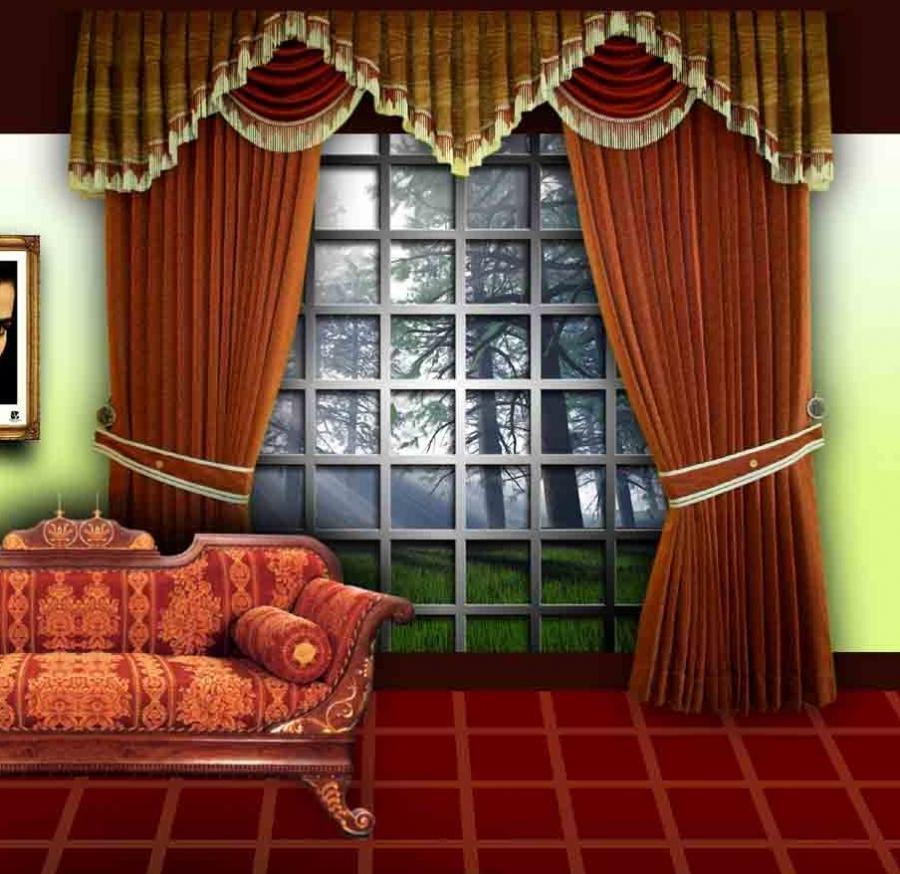 Curtains Designs Photos India