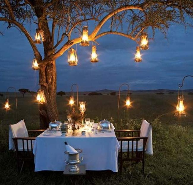 Romantic Outdoor Dinner Ideas  DIY Decorating , Room Design source