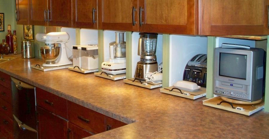 Kitchen Appliance Garage Photos