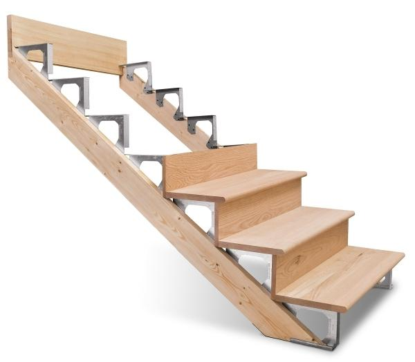 GoPro stairs can be used as temporary stairs and re-used later....