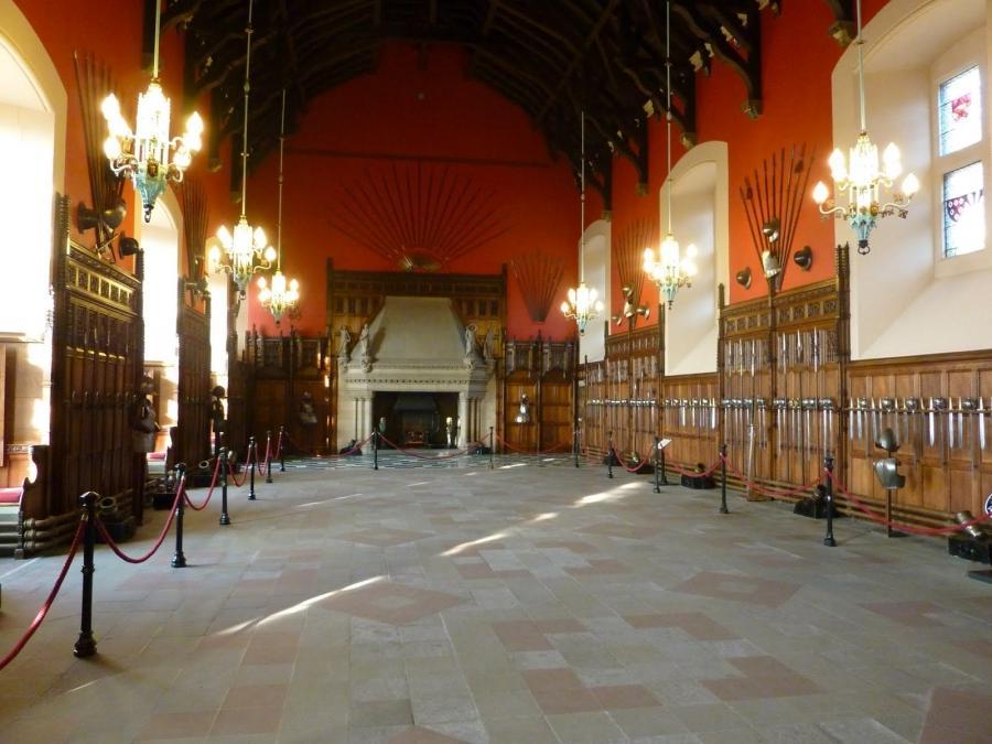 Edinburgh Castle Interior Photos
