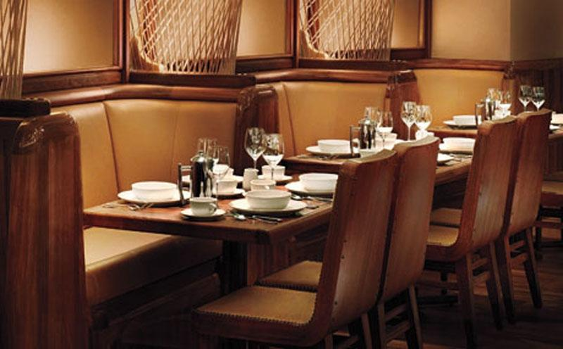 Photos of restaurant dining rooms