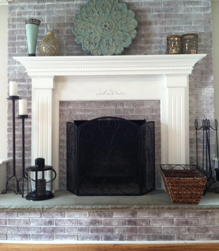 Photos Of Whitewashed Fireplaces