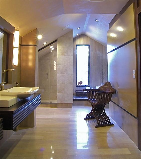 Attic Bathroom contemporary-bathroom