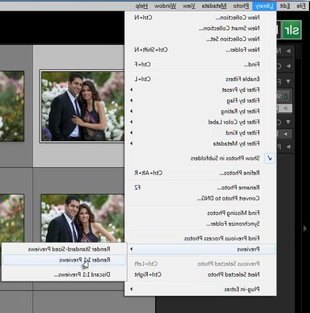 01-lightroom-4-render-previews-library-menu