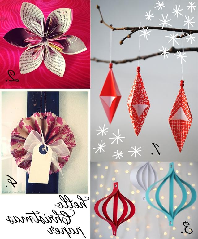 Moodboard Monday: Paper decorations