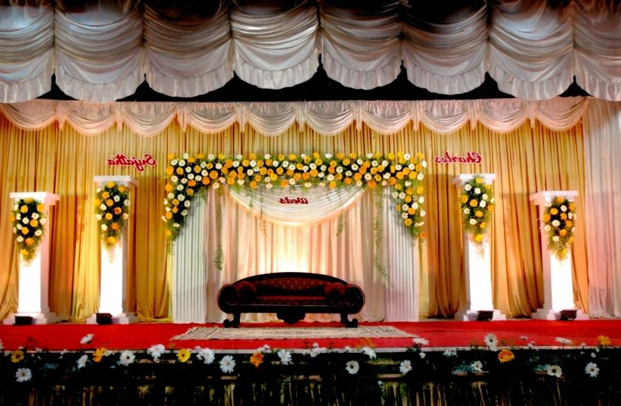 Wedding Stage Decoration Photos Indian Wedding Sets Stage Designs...