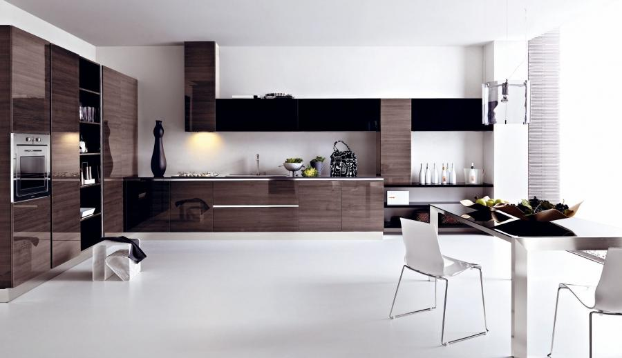 ... Kitchen Kitchen Design Go Back To Modern Gloss Grey Pine...