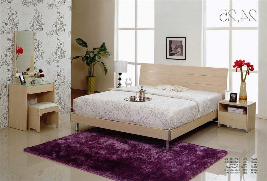 Purple White Bedroom Design Furniture