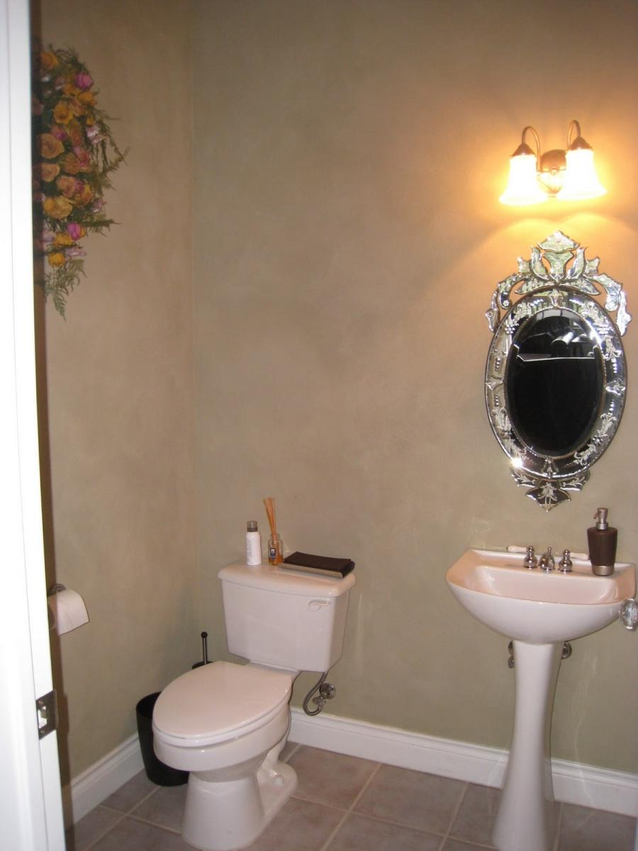 Powder Room Pedestal Sink Photos