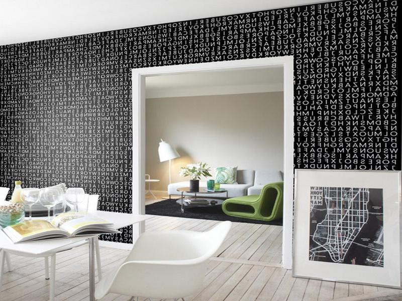 Photos of wallpapers for homes for Cool room wallpaper