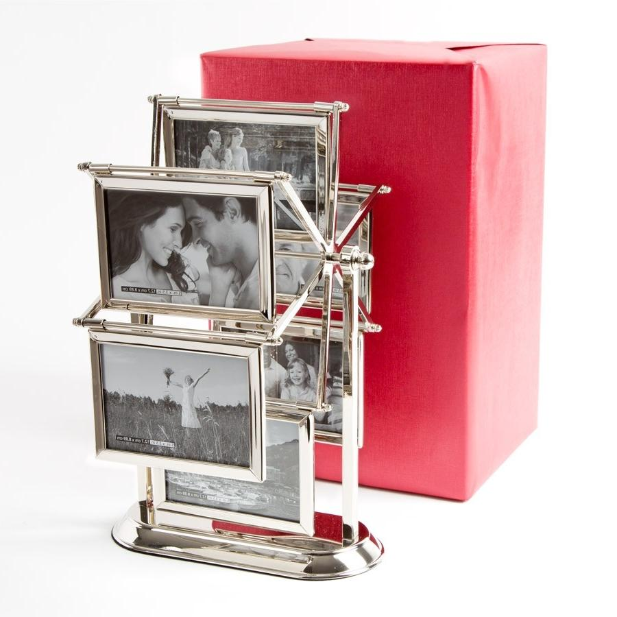 Revolving Glass Photo Frame