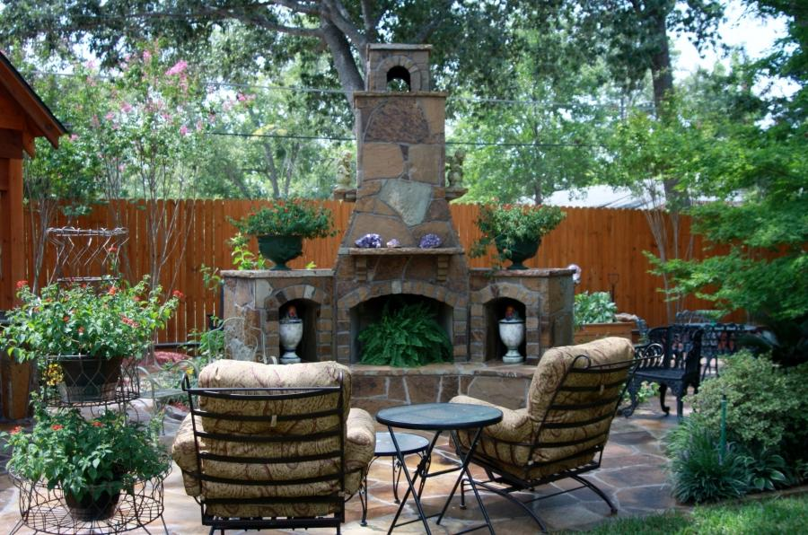 Photos Of Outdoor Fireplace