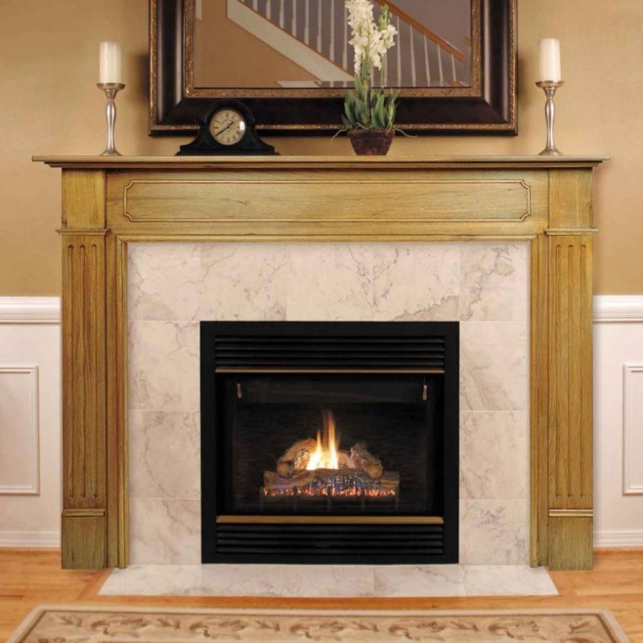 Contemporary fireplace mantel photos for Contemporary mantel