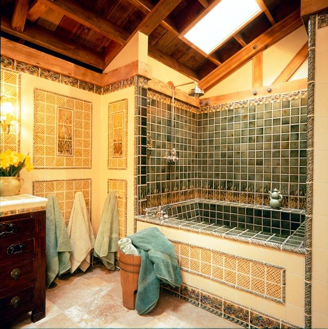 Craftsman Style Craftsman Bathroom Portland By Pratt And