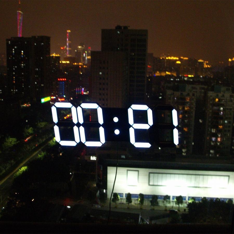 Shop Popular Large Digital Wall Calendar Clocks from China ... source