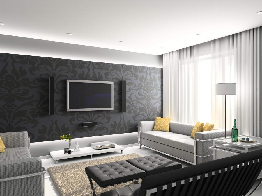 Others, Contemporary Designer Furniture Black And White Scheme...