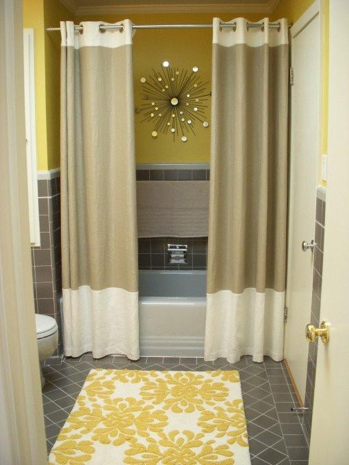 Photos Of Bathrooms With Shower Curtains