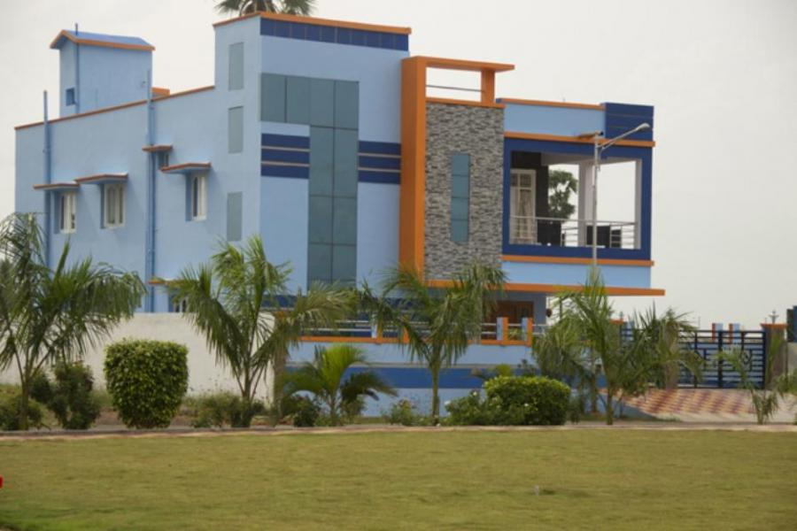 Front Elevation Of Houses In Jodhpur : Photos independent house india