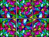 I saw this stained glass design picture on line and that is it,...